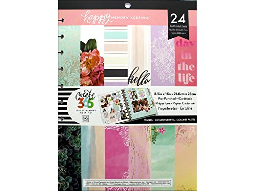Me & My Big Ideas Mamplpbx.2 Create 365 Big Pastel Hmk Paper Pad (Big Pastel)