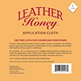 Leather Honey Lint-Free Application Cloth - Perfect for Use with the Best Leather Conditioner Products Since 1968 - Leather Conditioner + Leather Cleaner  Microfiber Cloth