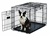 MidWest Homes for Pets Ovation Double Door Dog Crate, 30-Inch