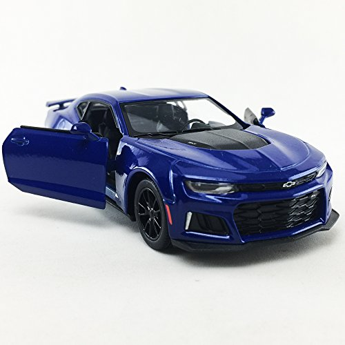 2017 Chevrolet Chevy Camaro ZL 1 Blue Color Kinsmart 1:38 Die-Cast,Model,Toy,Car,Collectible,Collection