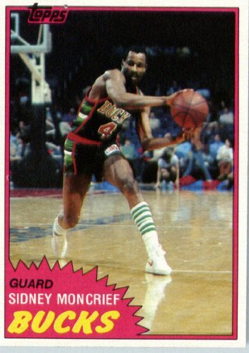 1981 Topps Basketball Card (1981-82) IN SCREWDOWN CASE #MW99 Sidney Moncrief Mint ()