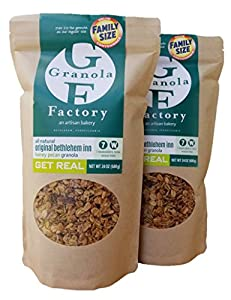 Granola Factory Honey Pecan Granola, 24 oz., 2 pack