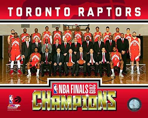 (Toronto Raptors 2019 NBA Champions Team Line-Up 8