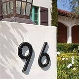 Daqin 15cm Large 3D Modern House Number Door