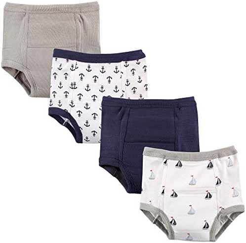 Luvable Friends Baby Boy and Baby Girl 4 Pack Training Pants