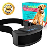 Bark Solution The Original Dog Collar Training System, Electric No Bark Shock Control with 7 Adjustable Sensitivity & Manual