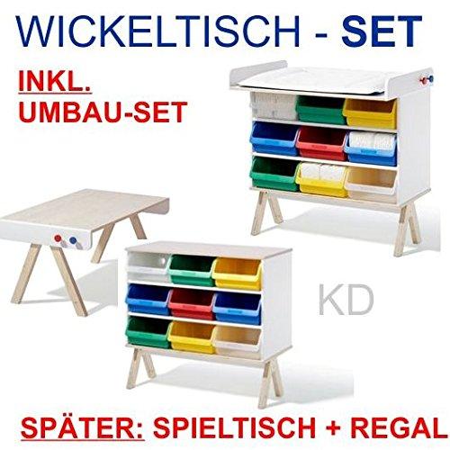 Famille Garage – SET Wickeltisch inkl. Umbauset - Richard Lampert ...