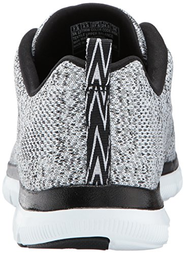EU Baskets Wbk 37 Skechers 0 Multicolore Energy Femme M Blanc High Flex Basses 2 Appeal wCqYT7