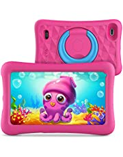 Vankyo MatrixPad Z1 Kids Tablet 7 inch, 32GB ROM, Kidoz Pre Installed, IPS HD Display, WiFi Android Tablet, Pink