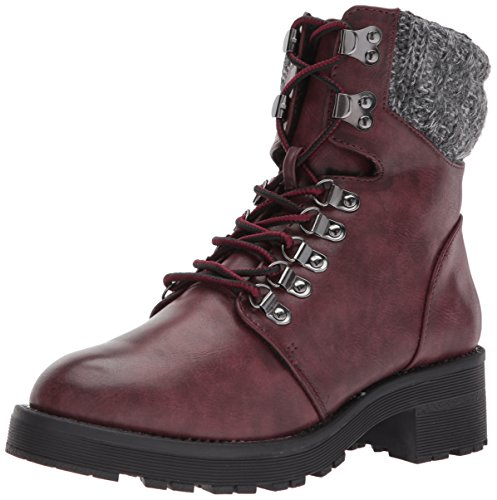 5 Maylynn Winter MIA 6 tan Boot M Wine US Women's 1TqWPwOY