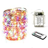 Diswoe LED String Lights Waterproof,200 Micro LED