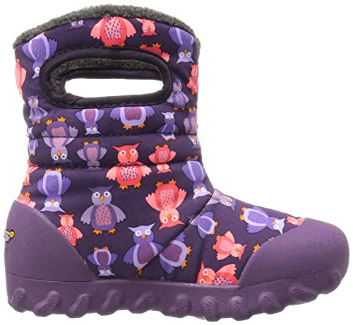 Bogs B Moc Puff Owls Purple Multi Purple