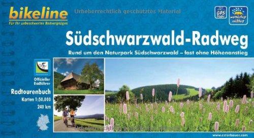 bikeline Radtourenbuch, Südschwarzwald- Radweg: Ohne Höhenanstieg rund um den Naturpark Südschwarzwald, wetterfest/reißfest