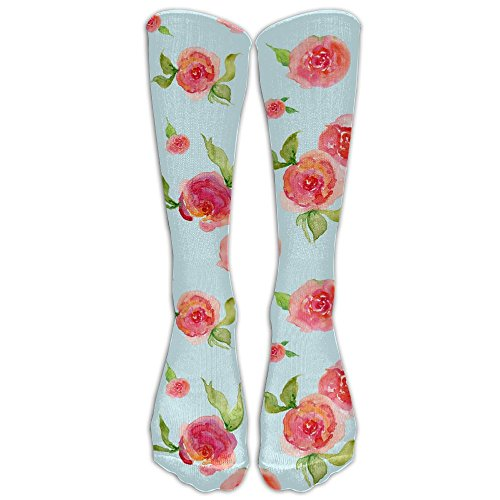 Cotton Water (WANGZII Sexy Colourfu Cotton Watercolor Floral Sock For Unisex)