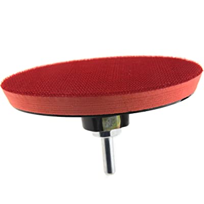 Buffing Polishing Pad Waxing Sponge with Hook and Loop Backing: Home Improvement