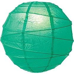 Paper Lantern - Emerald Green - 10 inch