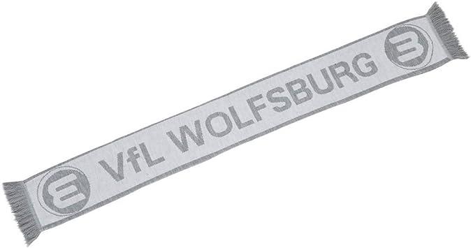 Balkenschal Schal gr/ün-wei/ß-grau VFL Wolfsburg