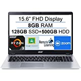 "2020 Newest Acer Aspire 5 15.6"" FHD 1080P Laptop Computer| AMD Ryzen 3 3200U up to 3.5 GHz(Beat i5-7200u)| 8GB RAM…"