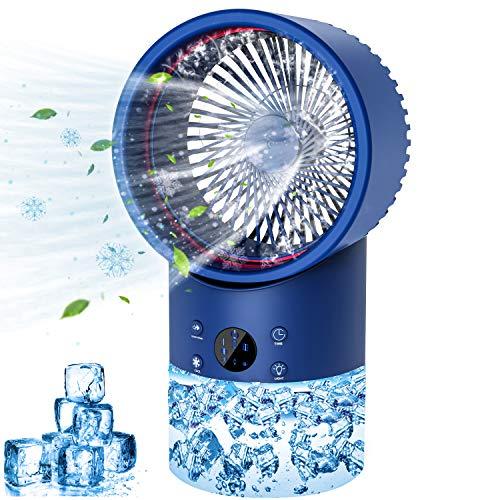 Portable Air Conditioner AC Mini – Air Conditioner Portable, Personal Portable Air Conditioner with Timing, 7 Colors…
