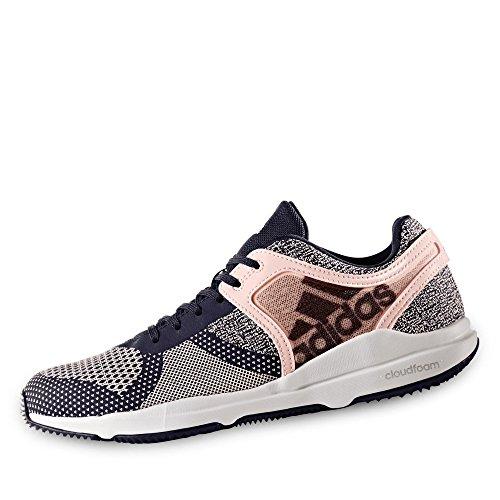 adidas Damen Crazytrain Cf W Fitnessschuhe, Schwarz/Weiß Rosa Schwarz
