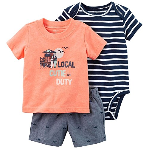Carter's Baby Boys' Diaper Cover Sets 121h173, Orange, - Boy Baby Sunglasses Carters