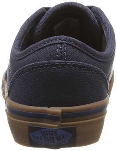Vans Y Atwood, Unisex - Kinder Sneaker Blau - Bleu (10 Oz Canvas Navy/Gum)