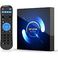 EstgoSZ Android 10.0 TV Box, QPLOVE 4GB+32GB Quad-core 4K/6K Smart TV Box, Support 2.4G/5G Dual WiFi/HDR/Bluetooth 5.0…