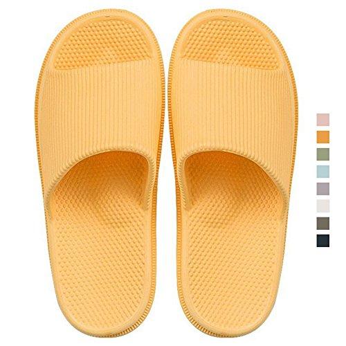 Yellow Hommes Femme de Chaussures décontractées Massage été Plage foot de amp; antidérapantes Massage Chausson wPIqxC
