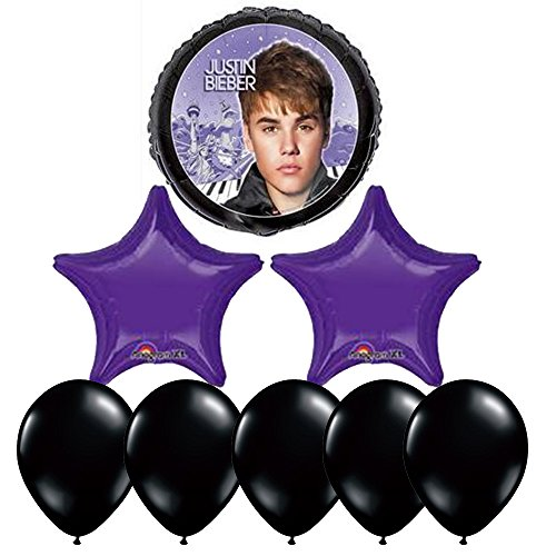 Justin Bieber Birthday Party Balloon Decorating Kit