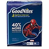 Goodnites Bedtime Pants 28 Count - X-Small, Boys