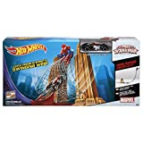 Hot Wheels Marvel Ultimate Spiderman Web Swing Drop-Out Track Set
