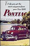 1949 Pontiac Owner's Manual Reprint