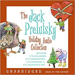 the jack prelutsky holiday cd audio collection jack prelutsky 9780060820657 amazoncom books