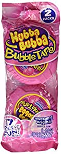 Hubba Bubba Bubble Tape Awesome Original 2 Pack