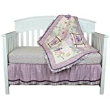 Butterfly Dreams 8 Piece Baby Crib Bedding Set by Belle