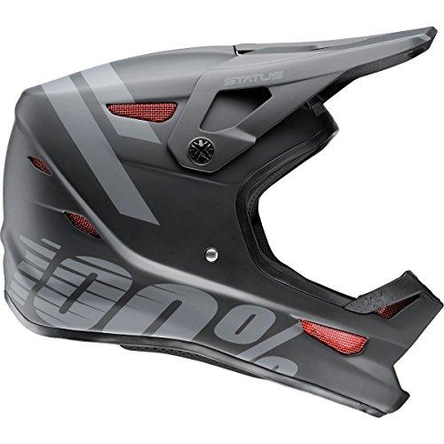 100% Status Helmet - Youth Black Meteor, L by 100%