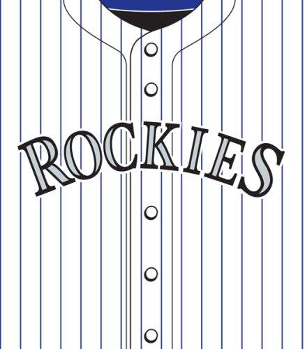 Turner MLB Colorado Rockies Stretch Book Covers ()