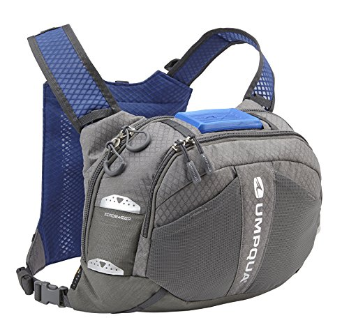 Umpqua Overlook 500 ZS Chest Pack Granite (35104), Black, One Size