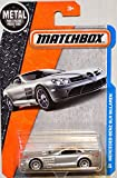 Matchbox 2016 MBX Adventure City Mercedes-Benz SLR McLaren 29/125, Silver