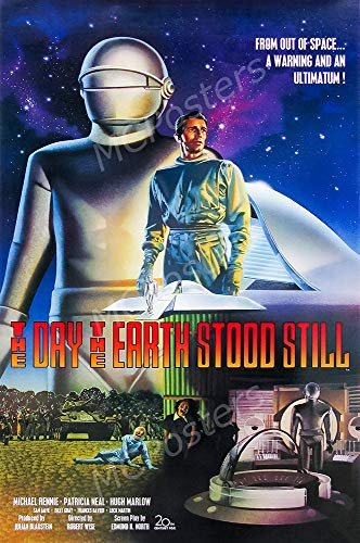 Free Earth Day Posters - MCPosters - The Day The Earth Stood Still Glossy Finish Movie Poster - MCP866 (24