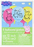 Amscan Latex Balloons | Peppa Pig Collection | Party Accessory