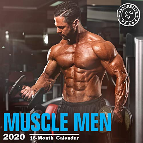 Hot Guys Wall Calendars by Bright Day Calendars 16 Month Wall Calendars 12 x 12 Inches (Muscle Men 2020) (Best Bodybuilder In The World 2019)