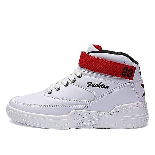 Zapatos Deportivos Oficial de los Hombres Zapatillas Deportivas Originales de Alta Retro de Baloncesto: Amazon.es: Zapatos y complementos