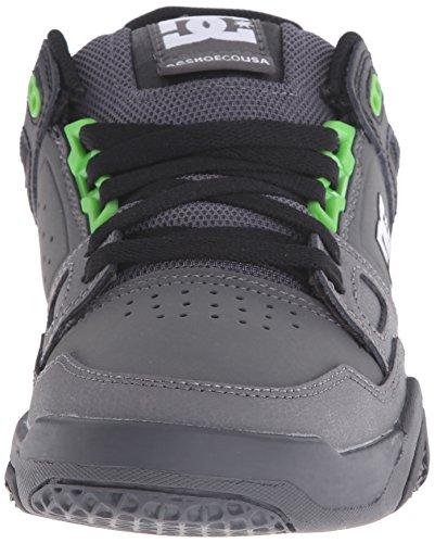 Dc Mens Sneaker Uomo Nero / Ombra Scura / Verde
