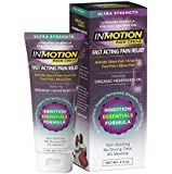 Inmotion Hemp Pain Relief Cream Ultra Strength 2.5oz Tube - Fast Acting Topical Analgesic for Arthritis, Tendinitis, Fibromyalgia, Sciatica, Back, Knee, Muscle, Nerve, Foot, Joint and Elbow Pain
