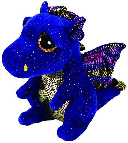 Ty Beanies boos Beanie Boo Blue Dragon Saffire 6