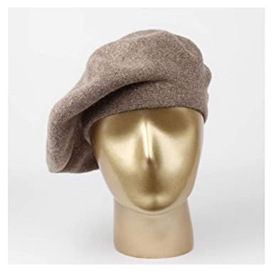 Sombrero de Punto de Invierno Boina Femenina para Mujer Gorros ...