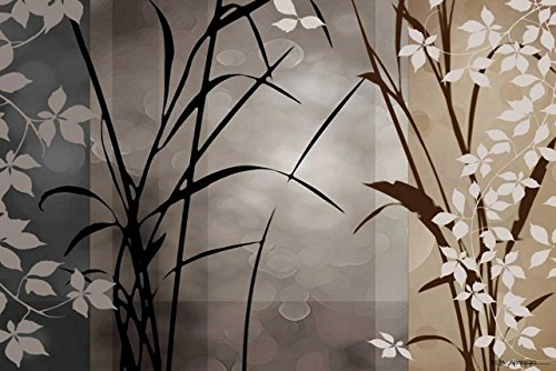 ''Silver Whispers II'' By Edward Aparicio, Fine Art Giclee Print on Gallery Wrap Canvas, Ready to Hang by Tangletown Fine Art