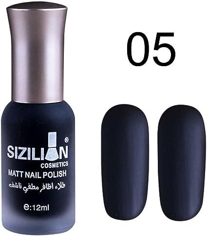 Amazon.com: 0.4 fl oz mate mate esmalte de uñas secado ...
