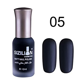 Amazon.com: 0.4 fl oz mate mate esmalte de uñas secado ...